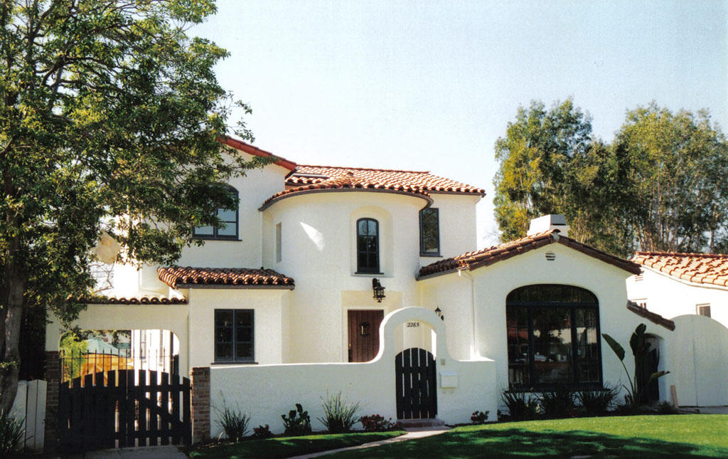 A remodeled traditional home